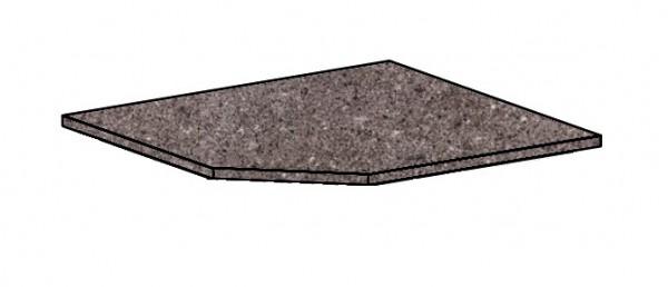 Kuchyňská pracovní deska 89,2x89,2 cm porfir