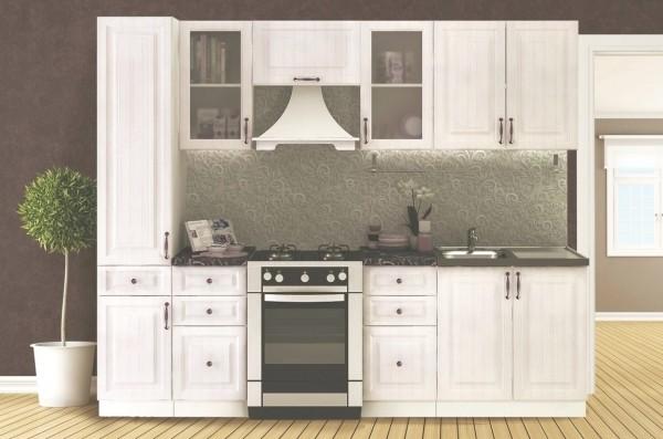 Kuchyně VICTORIE 260 bílý santál