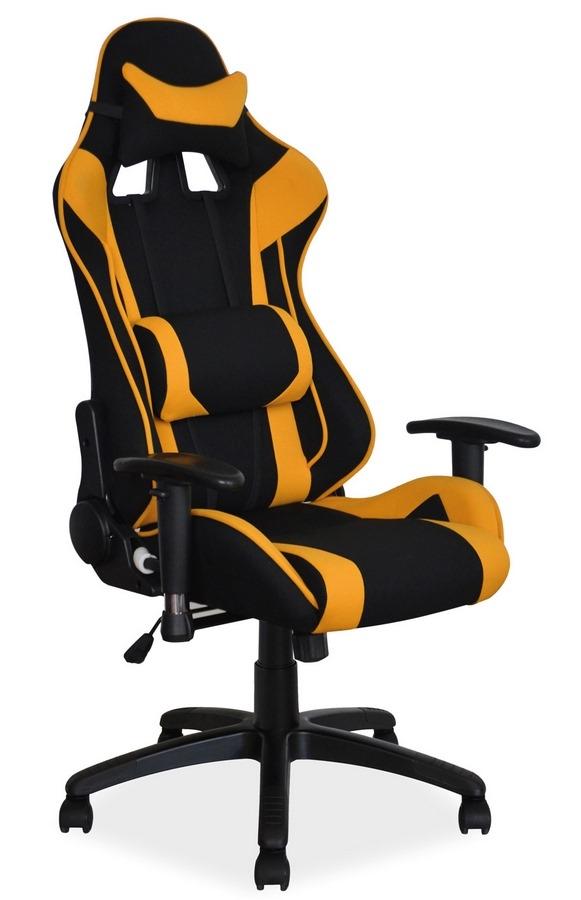 Kancelářské křeslo VIPER žlutá/černá