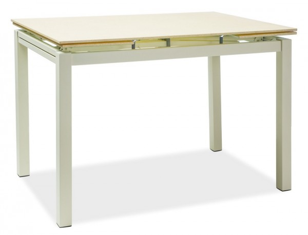Jídelní stůl TURIN rozkládací krémový