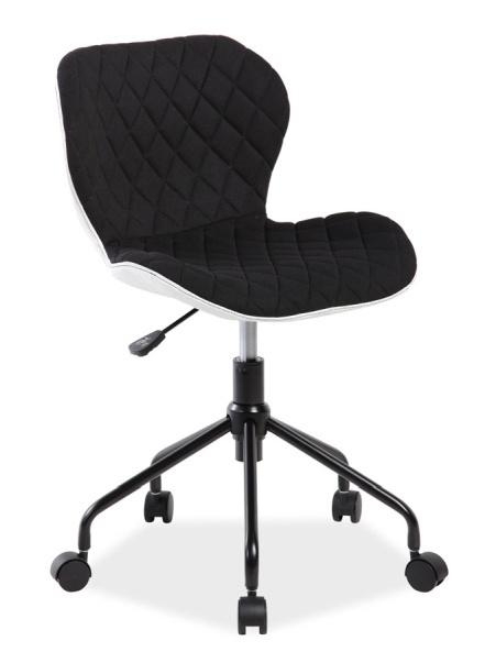 Kancelářské křeslo RINO černá/bílá