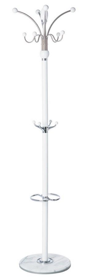 Věšák LC-05 bílý