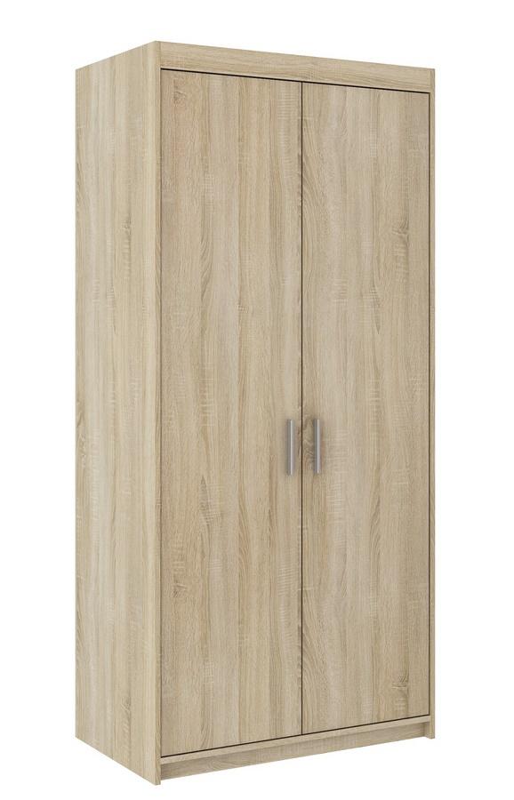 Šatní skříň ELINA 2D dub sonoma