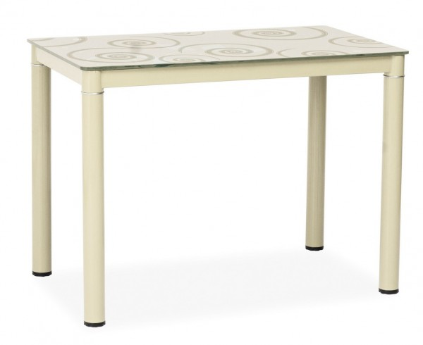 Jídelní stůl DAMAR 80x60 krémový