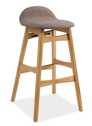 Barová židle TRENTO dub