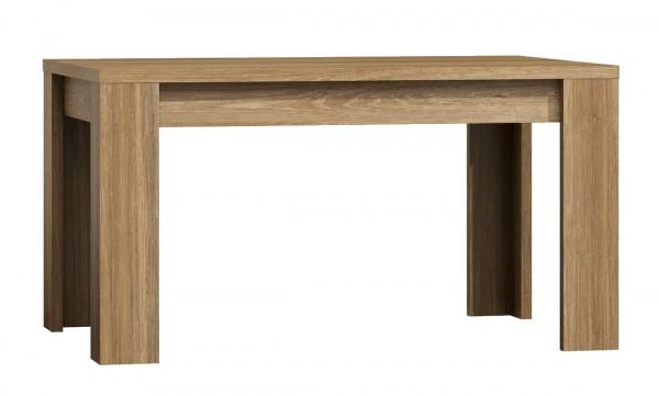 Jídelní stůl rozkládací 120 x 80 PARIS dub Sanremo