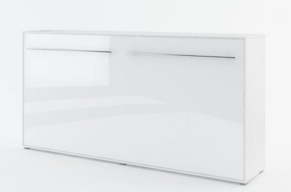 Výklopná postel 140 CONCEPT PRO CP-04P bílá lesk/bílá mat