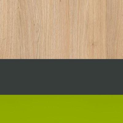 Komoda 2d1s WOW W-6 zelená