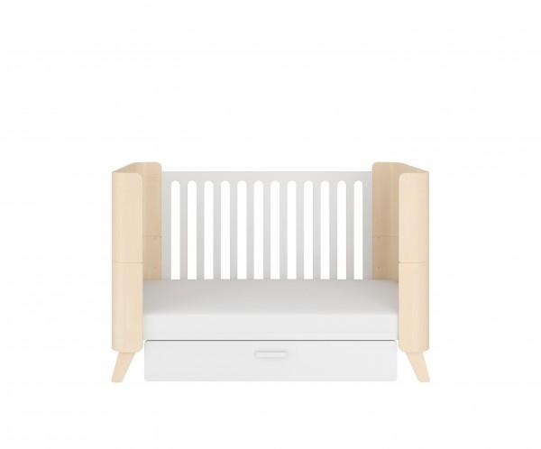 Dětská postýlka Hoppa s funkcí postele 140x70 cm