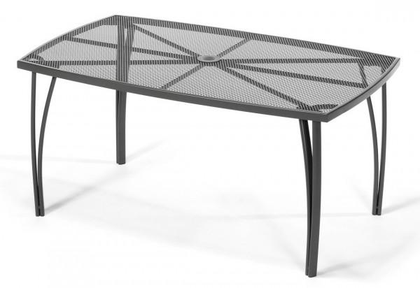Zahradní kovový stůl ANTVERPY antracit