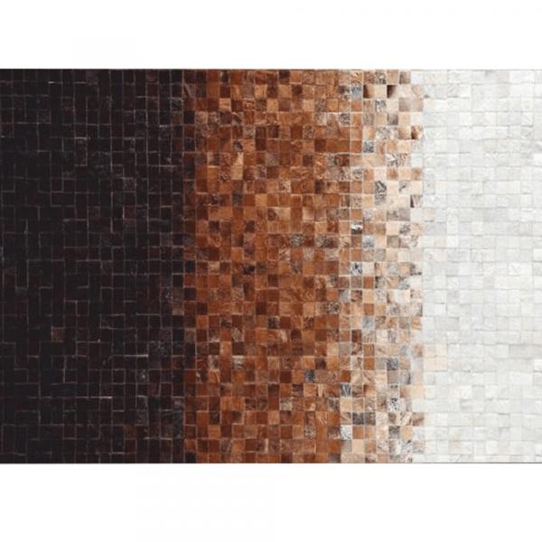 Luxusní koberec, pravá kůže, 140x200, KŮŽE TYP 7